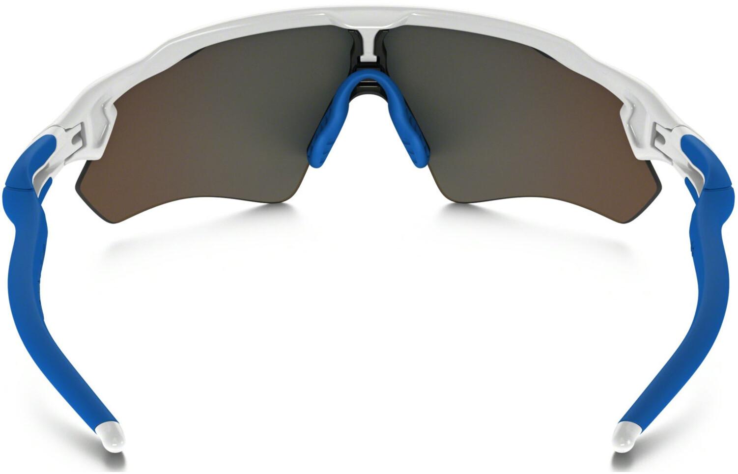 Oakley Radar EV XS Path - Lunettes cyclisme - bleu blanc - Boutique ... 5ae3ef52df59